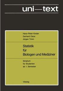 Statistik für Biologen und Mediziner