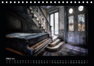 Lost Places - vergessene orte vergessener glanz (Tischkalender 2