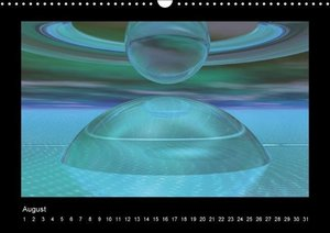 The third dimension (Wall Calendar perpetual DIN A3 Landscape)