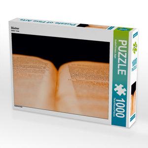 Bücher 1000 Teile Puzzle quer