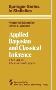 Applied Bayesian and Classical Inference