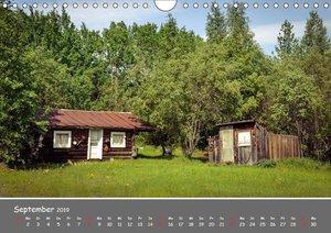 Unterwegs in Alaska (Wandkalender 2019 DIN A4 quer)