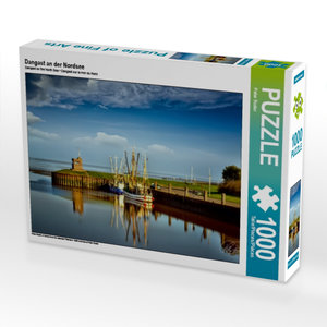 Dangast an der Nordsee 1000 Teile Puzzle quer