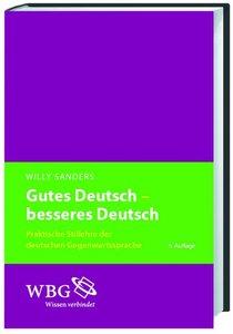 Gutes Deutsch - besseres Deutsch