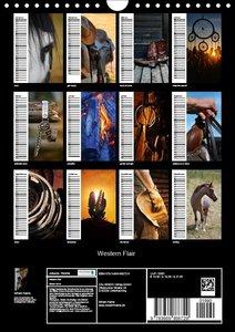 Western Flair (Wandkalender 2019 DIN A4 hoch)
