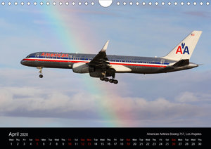 Airliners of the World (Wall Calendar 2020 DIN A4 Landscape)