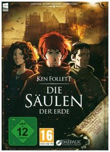 Ken Follett: Die Säulen der Erde, 1 DVD-ROM (Kingsbridge Edition