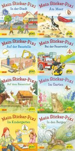 Pixi-Bundle 8er Serie 199. Meine Sticker-Pixis