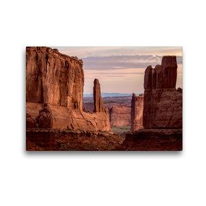 Premium Textil-Leinwand 45 cm x 30 cm quer Arches National Park,