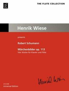 Märchenbilder - Vier Stücke op. 113, Bearbeitung für Klavier und