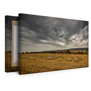 Premium Textil-Leinwand 45 cm x 30 cm quer Wilde Landschaft