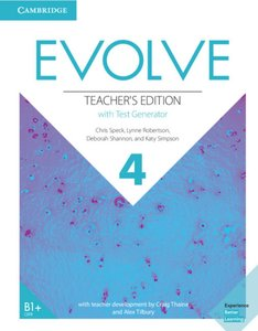 Evolve 4 (B1+). Teacher\'s Edition with Test Generator
