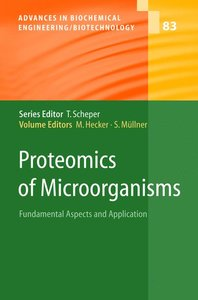 Proteomics of Microorganisms
