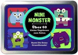 Boxset Mini Monster Über 60 kleine Ungeheuer zum Falten