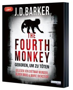 The Fourth Monkey - Geboren, um zu töten, 2 Teile, MP3-CD