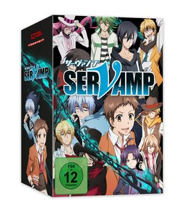 Servamp - DVD 1 + Sammelschuber [Limited Edition]