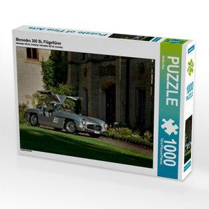 Mercedes 300 SL Flügeltürer 1000 Teile Puzzle quer