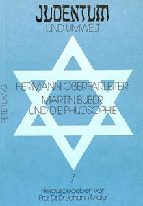 Martin Buber und die Philosophie