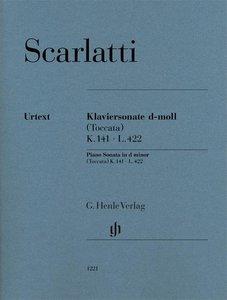Klaviersonate d-moll (Toccata) K. 141, L. 422