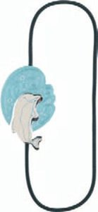 Artisan Bookmarks - Delphin