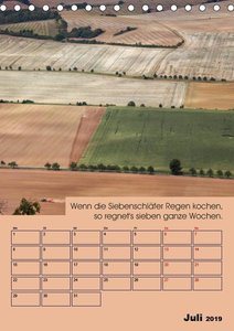 Wetter-Regeln der Bauern (Tischkalender 2019 DIN A5 hoch)