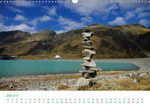 Bergwelt in Österreich (Wandkalender 2019 DIN A3 quer)