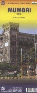Mumbai (Bombay) City Map (INDIA) 1 : 12 000