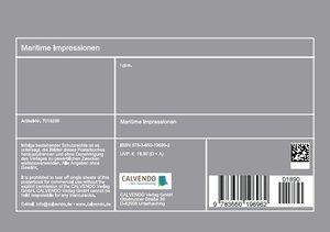 Maritime Impressionen (Tischaufsteller DIN A5 quer)