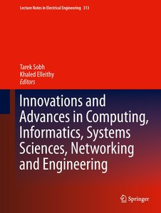 Innovations and Advances in Computing, Informatics, Systems Scie