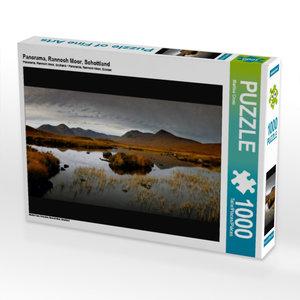 Panorama, Rannoch Moor, Schottland 1000 Teile Puzzle quer