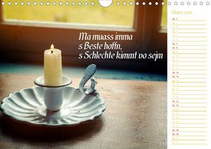 I sog\'s auf boarisch. Kalender mit bayerischen Sprüchen. (Wandk