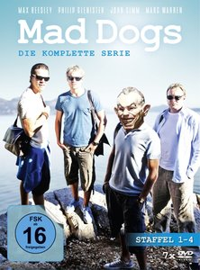Mad Dogs - Die komplette Serie (Staffel 1 - 4)