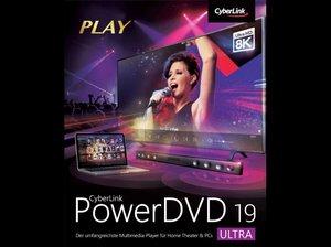 CyberLink PowerDVD 19 Ultra, 1 DVD-ROM