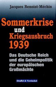 Sommerkrise und Kriegsausbruch 1939
