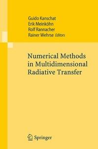 Numerical Methods in Multidimensional Radiative Transfer
