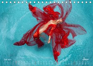 Wasserspiele - Akt im Tanz der Schwerelosigkeit