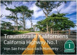 Traumstraße Kaliforniens - California Highway No.1 (Wandkalender