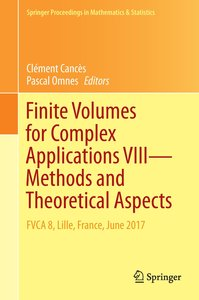 Finite Volumes for Complex Applications VIII - Methods and Theor