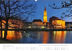 Hafenstädte der Ostsee (Wandkalender 2019 DIN A2 quer)