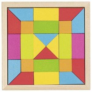 Legespiel Regenbogen Mosaik
