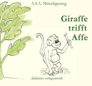 Giraffe trifft Affe