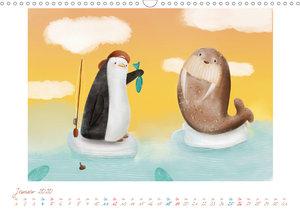 Mein Pinguin Kidskalender