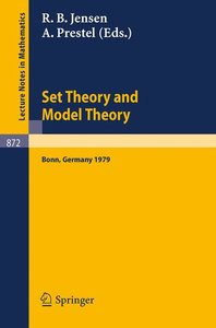 Set Theory and Model Theory