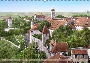 Rothenburg ob der Tauber um das Jahr 1900 ? Fotos neu restaurier