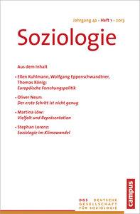 Soziologie Jg. 42 (2013) 1