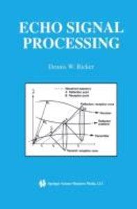 Echo Signal Processing