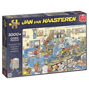 Jumbo 19038 Jan van Haasteren Der Drucker 3000 Teile Puzzle