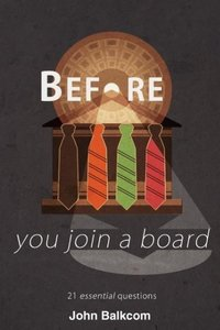 Before You Join a Board