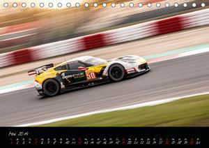 EMOTIONS ON THE GRID - WEC Nürburgring (Tischkalender 2019 DIN A