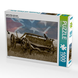spirit of the old west 1000 Teile Puzzle quer